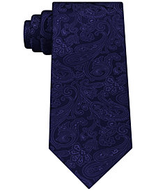 Michael Kors Men's Dress Code Paisley Silk Tie