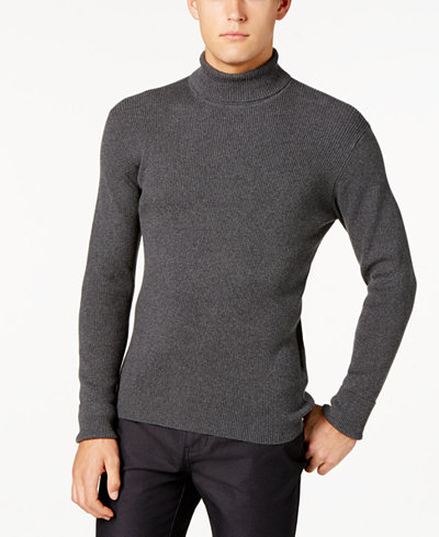 Ryan Seacrest Distinction™ Men's Turtleneck Sweater, Created for ...