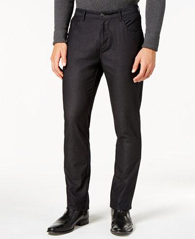 Ryan Seacrest Distinction™ Men's Slim-Fit Black Dress Pants, Created for Macy's