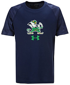 Under Armour Notre Dame Fighting Irish Tech Novelty T-Shirt, Big Boys (8-20)