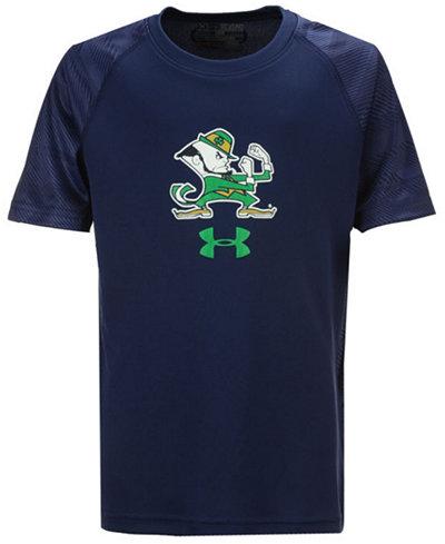 Under Armour Notre Dame Fighting Irish Tech Novelty T-Shirt, Big Boys (8-20)
