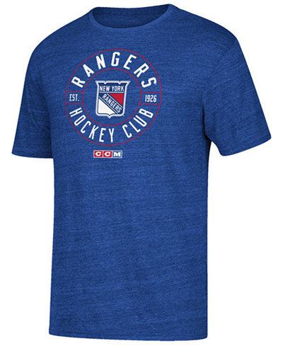 CCM Men's New York Rangers Wheelhouse T-Shirt