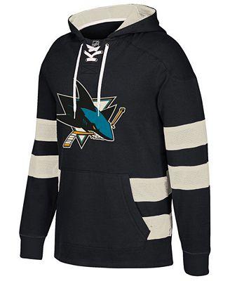 CCM Men's San Jose Sharks Pullover Jersey Hoodie