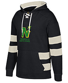 CCM Men's Minnesota North Stars Pullover Jersey Hoodie