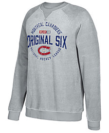 CCM Men's Montreal Canadiens Original 6 Classic Crew Sweatshirt