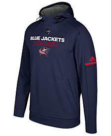 adidas Men's Columbus Blue Jackets Authentic Pro Hoodie