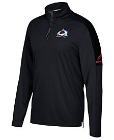 adidas Men's Colorado Avalanche Authentic Pro Quarter-Zip Pullover