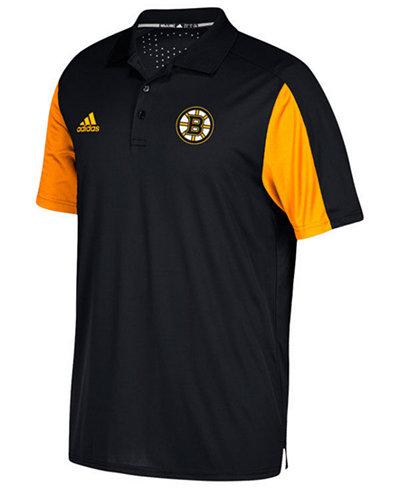 adidas Men's Boston Bruins Authentic Pro Game Day Polo