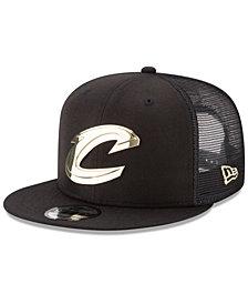 New Era Cleveland Cavaliers Metal Mesh 9FIFTY Snapback Cap
