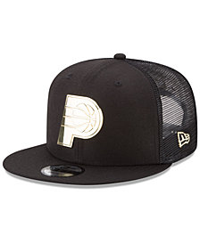 New Era Indiana Pacers Metal Mesh 9FIFTY Snapback Cap