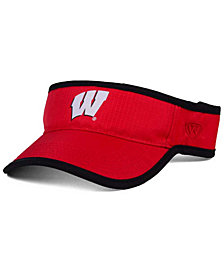 Top of the World Wisconsin Badgers Baked Visor