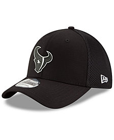 New Era Houston Texans Black/White Neo MB 39THIRTY Cap