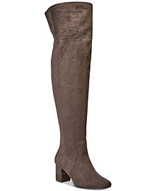 Alfani Women's Step 'N Flex Novaa Over-The-Knee Boots, Created For Macy's