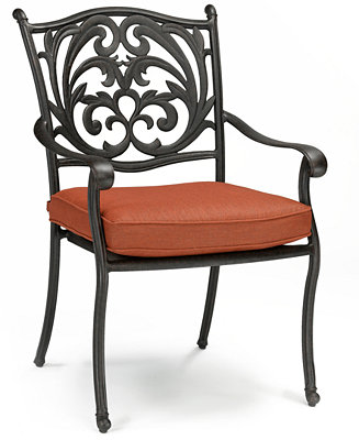 Chateau Cast Aluminum Outdoor Dining Chair