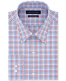 Tommy Hilfiger Men's Athletic Fit Performance Stretch Flex Collar Dress Shirt