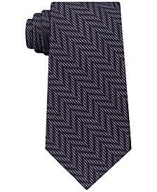 Michael Kors Men's Tonal Chevron Silk Tie