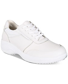 Easy Works By Easy Street Women's Middy Lace-Up Slip Resistant Sneakers
