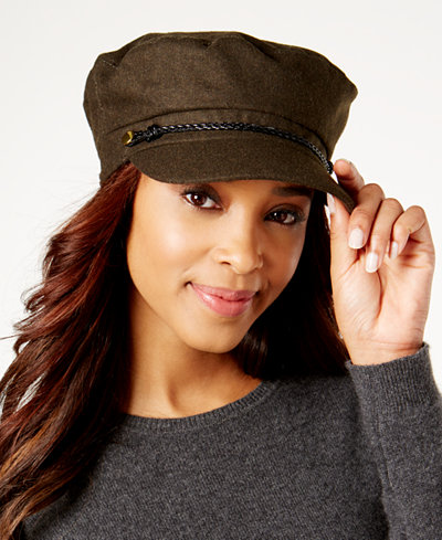 August Hats Wool Lieutenant Cap