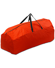 National Tree Company Red Rolling Storage Bag With Pole Guard For Artificial Trees Up To 9' Tall
