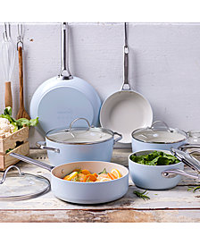 GreenPan Padova 10-Pc. Ceramic Non-Stick Cookware Set