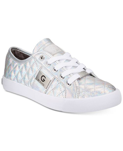 8b3863e2f84d G by GUESS Backer Lace-Up Sneakers   Reviews - Athletic Shoes ...