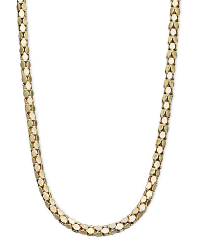 14k Gold Necklace, 16