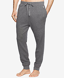 Polo Ralph Lauren Men's Waffle-Knit Thermal Jogger Pajama Pants