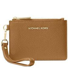 MICHAEL Michael Kors Mercer Pebble Leather Coin Purse