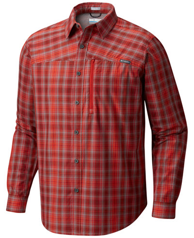Columbia Men's Battle Ridgelong Plaid Shirt
