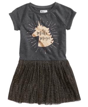 Epic Threads UnicornPrint Sweatshirt Dress Little Girls (46X) Created for Macys
