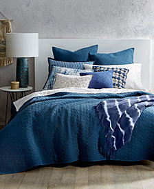Lucky Brand Vintage Wash King Coverlet, Created for Macy's