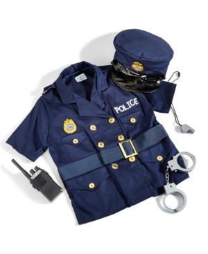 Fao Schwarz Childrens Police Officer Costume