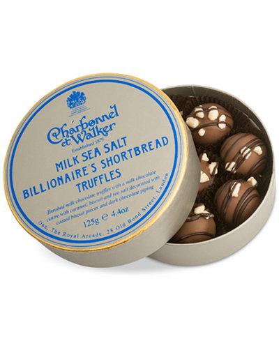 Charbonnel et Walker Milk Sea Salt Billionaire's Shortbread Truffles