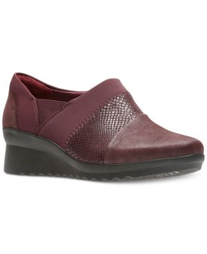 WOMEN'S CLOUDSTEPPERS CADDELL DENALI WEDGES WOMEN'S SHOES