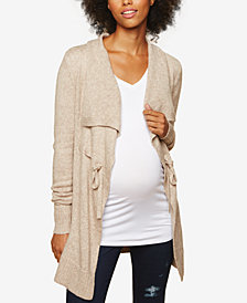 Motherhood Maternity Jersey Cardigan