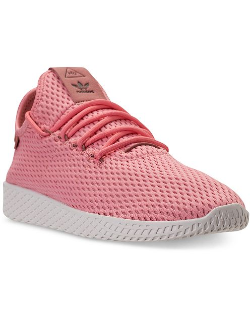 new concept f8a57 d61b7 adidas Unisex Originals Pharrell Williams Tennis HU Casual Sneakers from  Finish Line ...