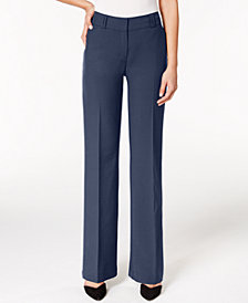 Alfani Petite Curvy-Fit Trousers, Created for Macy's