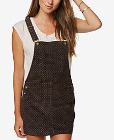 O'Neill Juniors' Kipling Corduroy Overalls Dress