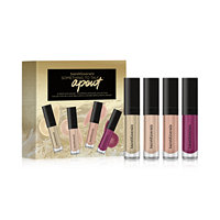 bareMinerals 4-Piece Mini Moxie Plumping Lipgloss Collection