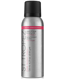 St. Tropez One Night Only Wash Off Body Bronzing Mist - Light/Medium