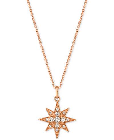 Le vian strawberry nude diamond star pendant necklace 14 ct le vian strawberry nude diamond star pendant necklace 14 ct aloadofball Gallery