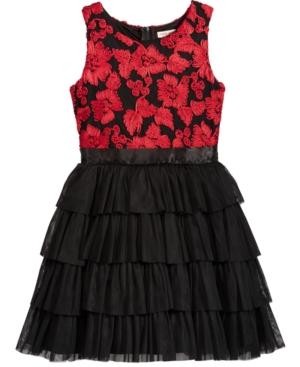 Nanette Lepore Soutache Bodice Party Dress Big Girls (716)