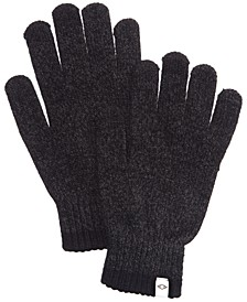 Men's Space-Dyed Gloves, Created for Macy's
