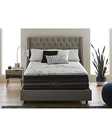 Beautyrest Black Vivianne 15'' Luxury Firm Pillow Top Mattress Set- Queen