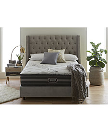 "Beautyrest Black Reyna 13.5"" Luxury Firm Mattress Set- Queen Split"