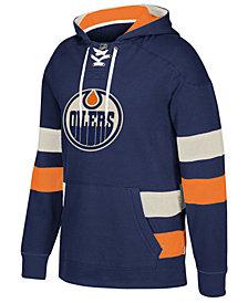 CCM Men's Edmonton Oilers Pullover Jersey Hoodie