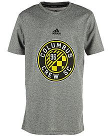 adidas Columbus Crew SC Primary Logo Climalite T-Shirt, Big Boys (8-20)