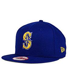 New Era Seattle Mariners 2 Tone Link 9FIFTY Snapback Cap