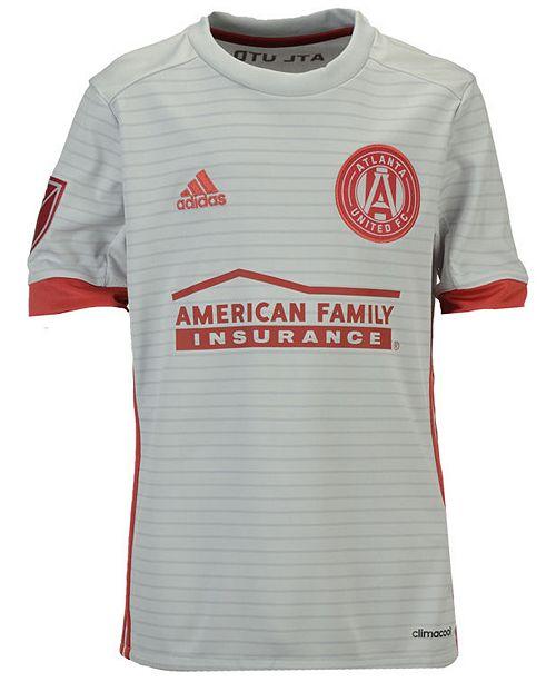 buy online 588b0 401fb adidas Atlanta United FC Secondary Replica Jersey, Big Boys ...