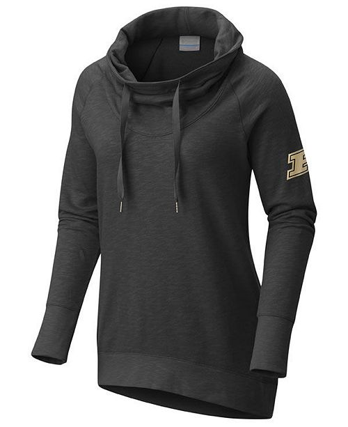 Columbia Women's Purdue Boilermakers Down Time Hooded Tunic